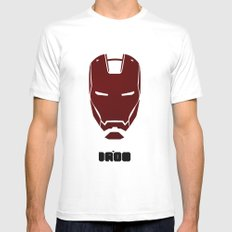 IRONMAN SMALL White Mens Fitted Tee