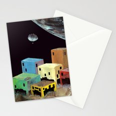 uzakta yaşam Stationery Cards