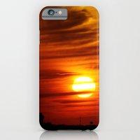Burning iPhone 6 Slim Case