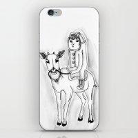Wanderer iPhone & iPod Skin