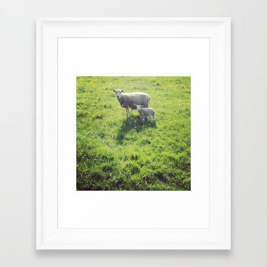 Ohsocute Framed Art Print
