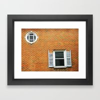 Past Prime Framed Art Print