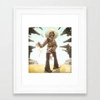 ¡Diga Hola A Mi Pequeñ… Framed Art Print