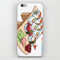 Kawaii California Roll A… iPhone & iPod Skin
