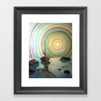 The Forecast Framed Art Print