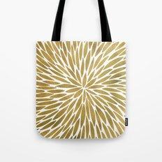 Golden Burst Tote Bag