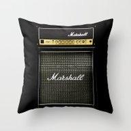 Guitar Electric Amp Ampl… Throw Pillow