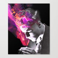 Young & Decadent Canvas Print