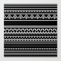 Graphic_Black&White #6 Canvas Print