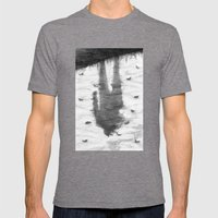 Oyster Catchers Mens Fitted Tee Tri-Grey SMALL