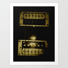 blood stained  Art Print
