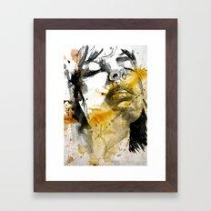splash portraits Framed Art Print