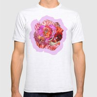 Rose Of Roses Mens Fitted Tee Ash Grey SMALL