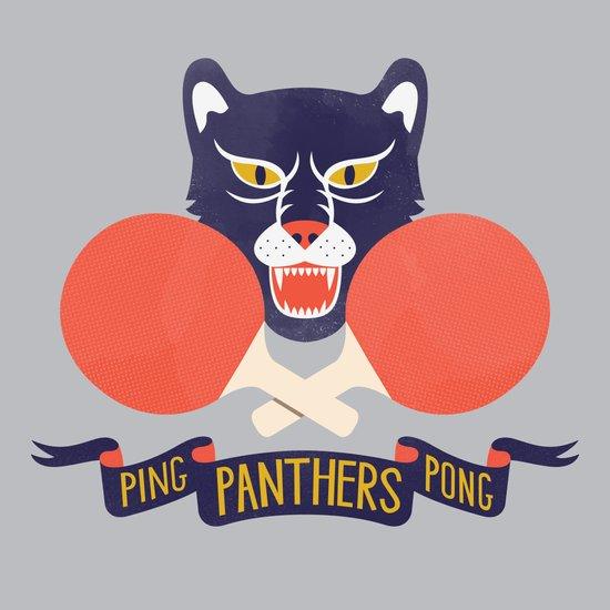 Ping Pong Panthers Art Print