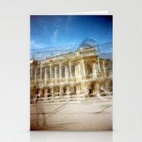 Jardin des Plantes Multiple Exposure Stationery Cards