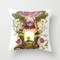 The Genesis Throw Pillow