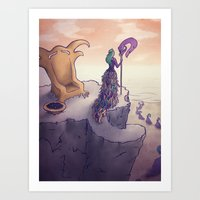 Feather Island Art Print