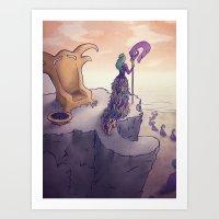 Feather Island Art Print