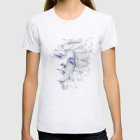 Goddess: Air Womens Fitted Tee Ash Grey SMALL