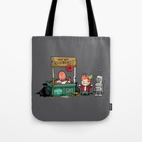 The Doctor Is In.... Why… Tote Bag