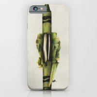 iPhone & iPod Case featuring To The Core: Green by Carl Floyd Medley III