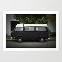 the darkside (Curbside VW photo series) Art Print