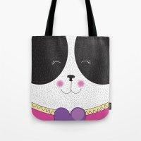 Lovely Panda Girlfriend!… Tote Bag