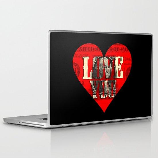 Modern Times - Real Love Laptop & iPad Skin