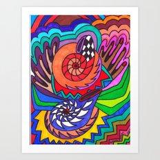 Zen Zone Art Print