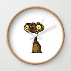 Grumpy E.T. Wall Clock