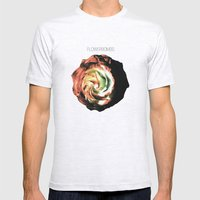 Flowerbombs Mens Fitted Tee Ash Grey SMALL