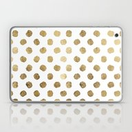 Luxurious Faux Gold Leaf… Laptop & iPad Skin