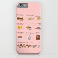 iPhone & iPod Case featuring Foods of 30 Rock by Tyler Feder