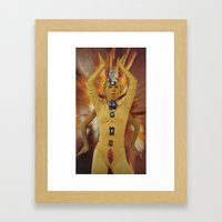 Temples in Motion Framed Art Print