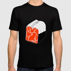 Toast Mens Fitted Tee Black SMALL