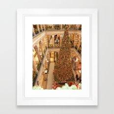 Christmas in Amsterdam Framed Art Print
