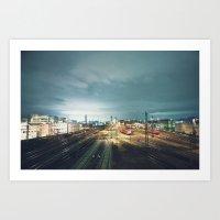 ✎_ _ _ _ _ Art Print
