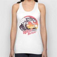 Wolf Beach Unisex Tank Top
