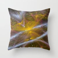 Fractal Design Univers Throw Pillow