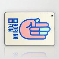 BORING N0.1 Laptop & iPad Skin