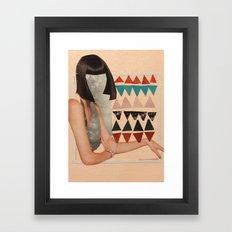 You're Square Framed Art Print