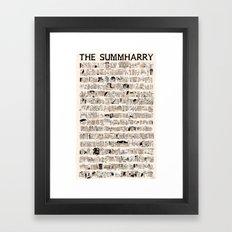 The Summharry Framed Art Print