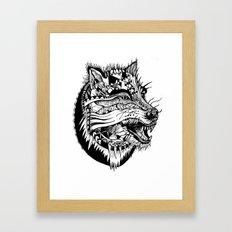 Ferocious Beauty Framed Art Print
