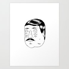 Needing Some Sleep! Art Print