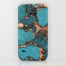AQUA & GOLD GEMSTONE Slim Case Galaxy S5