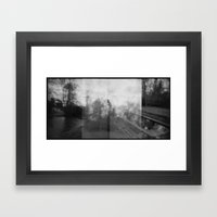 The labyrinth of dreams Framed Art Print