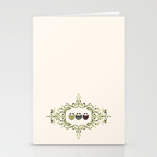 One for all, all for one! Stationery Card