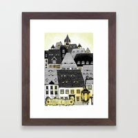 Midnight In Sibiu Framed Art Print