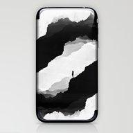 White Isolation iPhone & iPod Skin