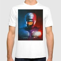 CYCLOPS Mens Fitted Tee White SMALL
